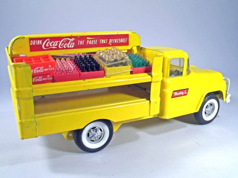 Buddy L Coke Truck Pressed Steel - 3