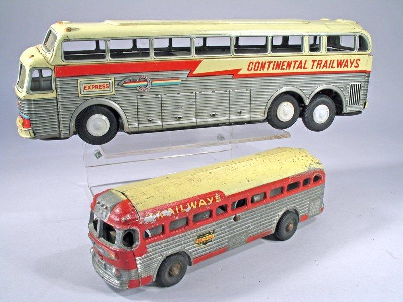Tin Bus Lot Continental Trailways Dubuque