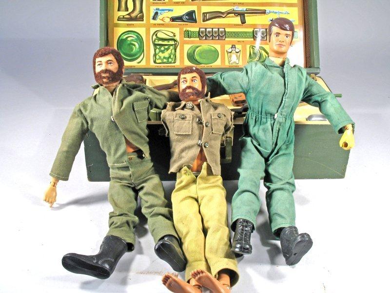 GI Joe Figures & Locker Accessories