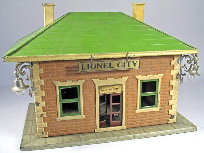 Lionel Train Station City Waiting Room
