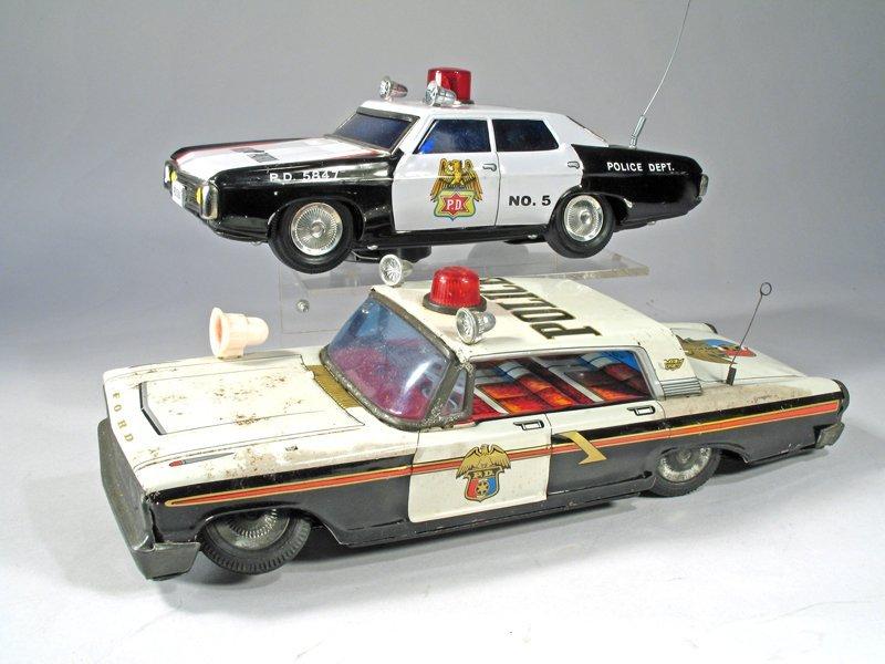 Batt Op Police Car Lot Japan