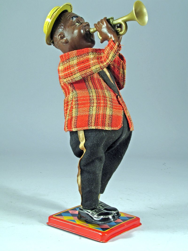 Nomura Louis Armstrong Wind Up Tin Litho - 2