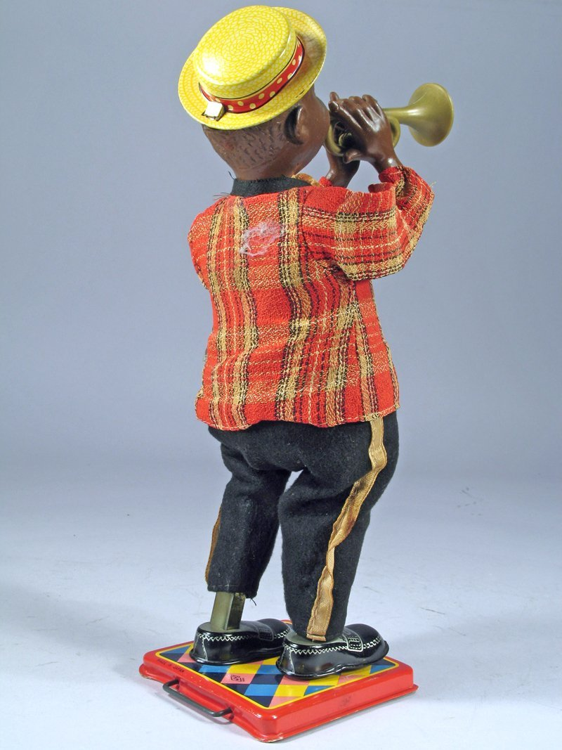 Nomura Louis Armstrong Wind Up Tin Litho - 3