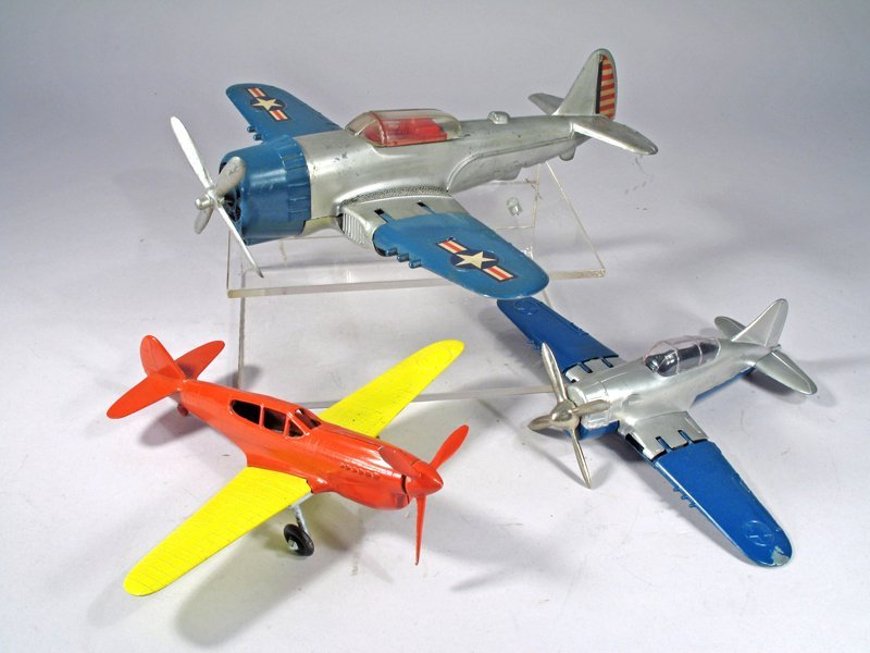 Hubley Corsair Hellcat Plane Lot