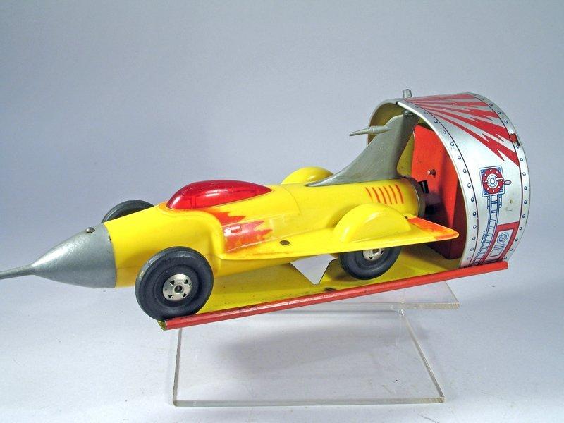 Ideal Space Jet Car Tin