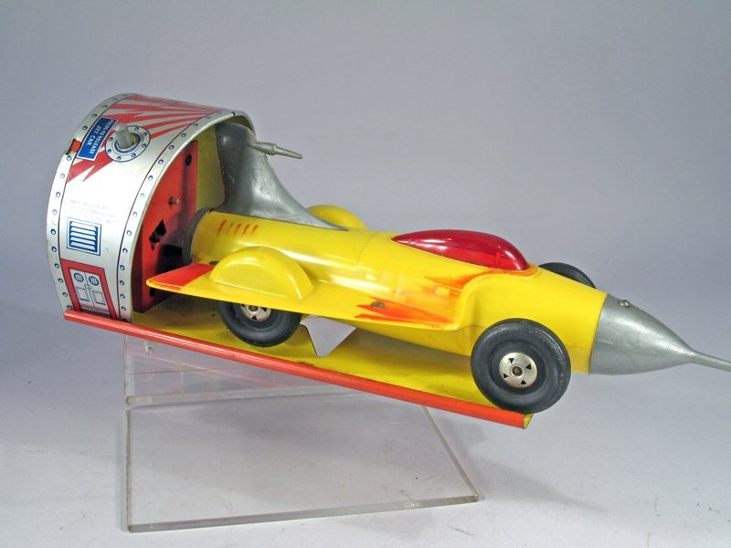 Ideal Space Jet Car Tin - 2