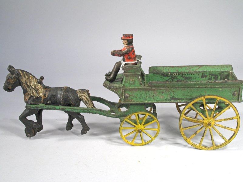 Kenton Cast Iron Horse Cart