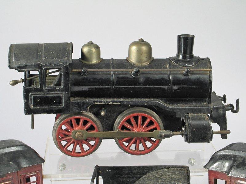 Karl Bub O Guage German Tin Litho Train Set - 3