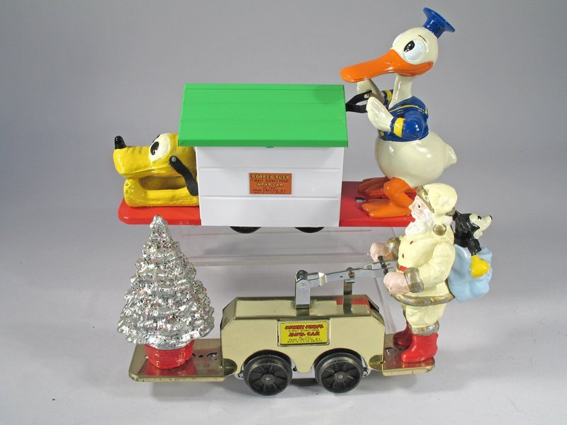 Pride Lines Lionel Donald Duck & Christmas Hand Carts