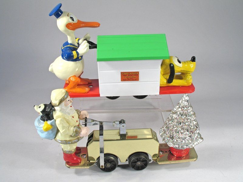 Pride Lines Lionel Donald Duck & Christmas Hand Carts - 2