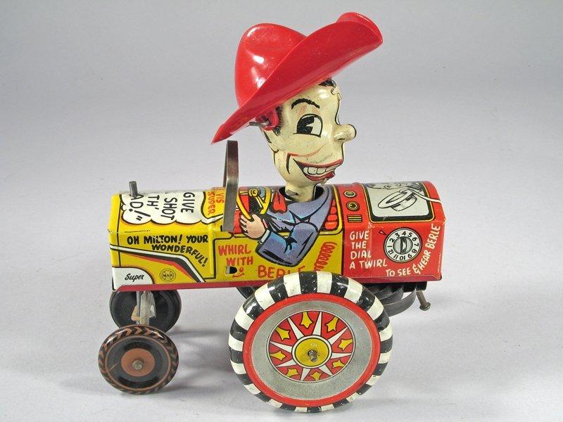 Marx Milton Berle Crazy Car Tin Litho