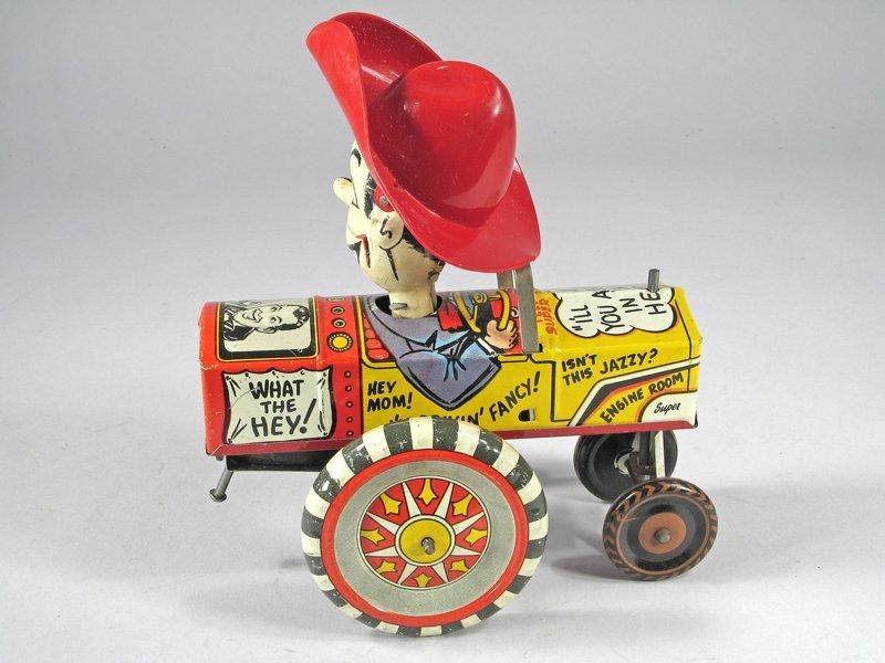 Marx Milton Berle Crazy Car Tin Litho - 2