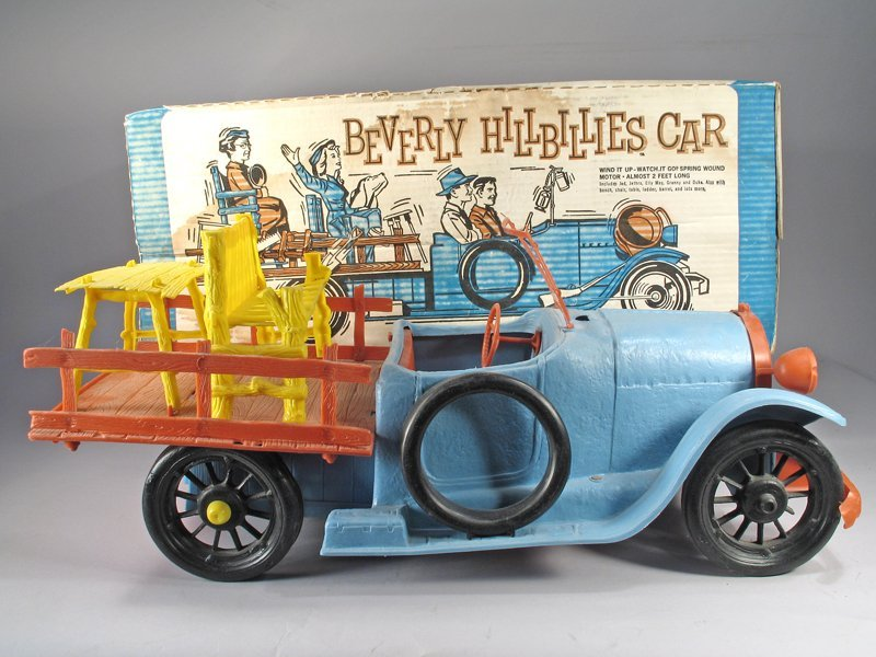 Ideal Beverly Hillbillys Car in Box w/Figures