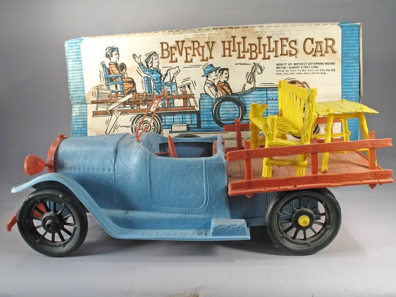 Ideal Beverly Hillbillys Car in Box w/Figures - 2
