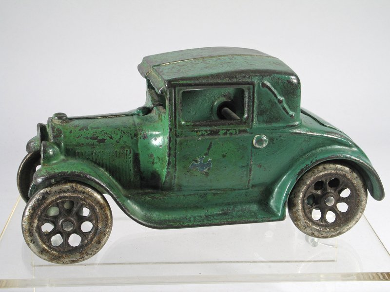 Arcade Cast Iron Model A Coupe with Rumble Seat