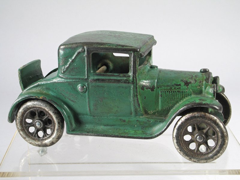 Arcade Cast Iron Model A Coupe with Rumble Seat - 2