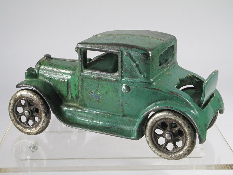 Arcade Cast Iron Model A Coupe with Rumble Seat - 3
