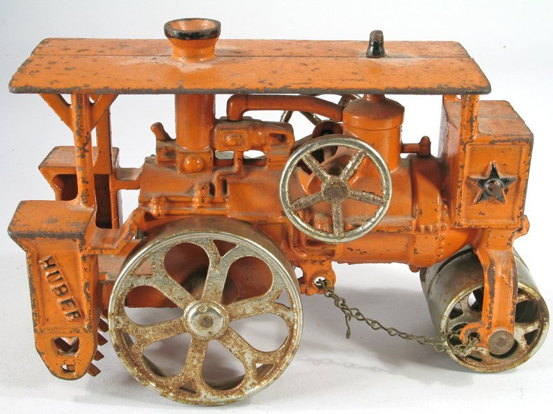 Hubley Huber Steam Roller Cast Iron Large