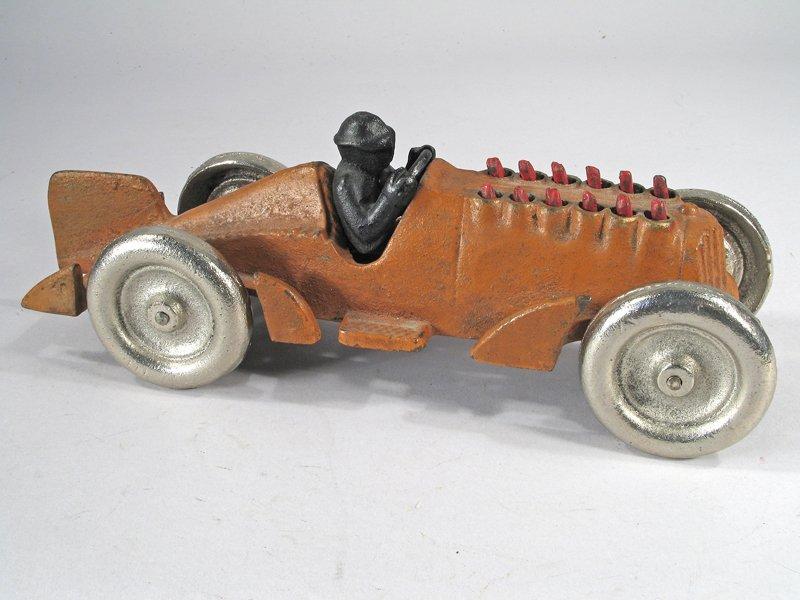 Hubley Cast Iron Piston Racer