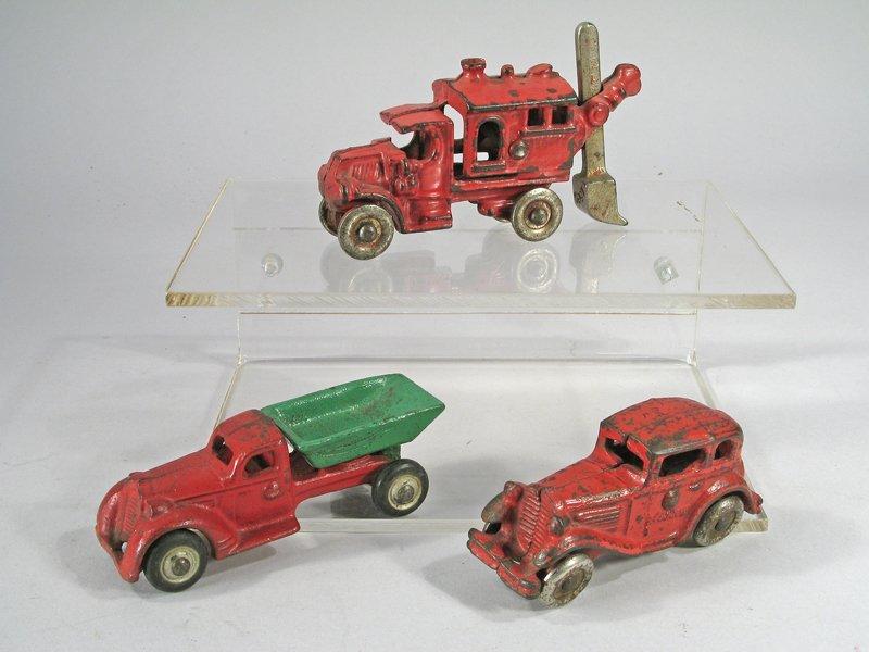 Hubley Cast Iron Truck Lot