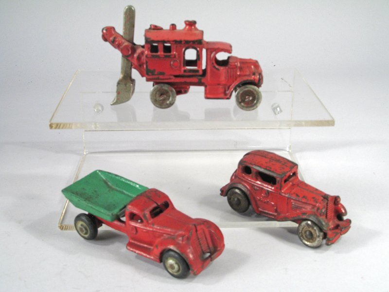 Hubley Cast Iron Truck Lot - 2