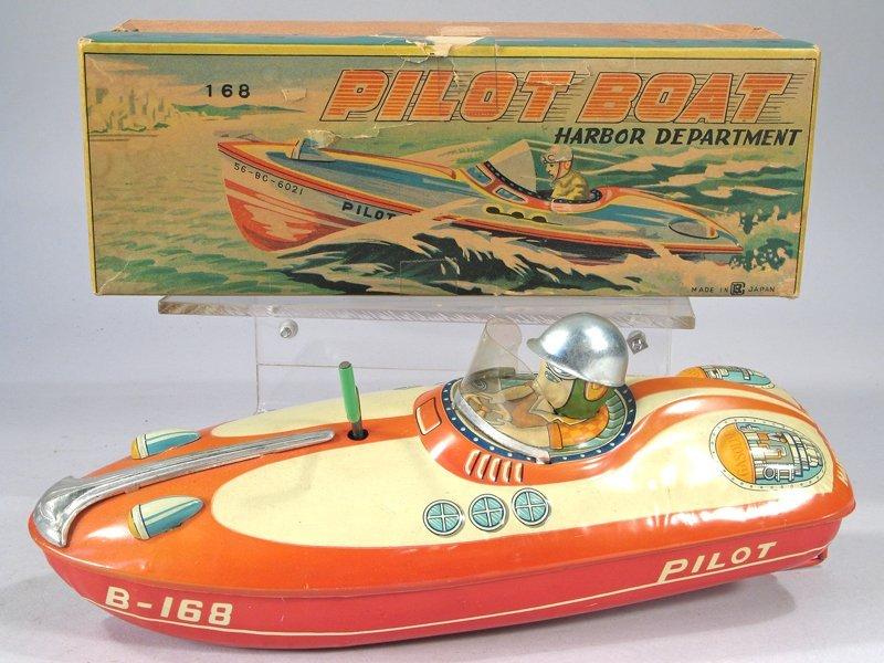 Bandai Pilot Boat In Box