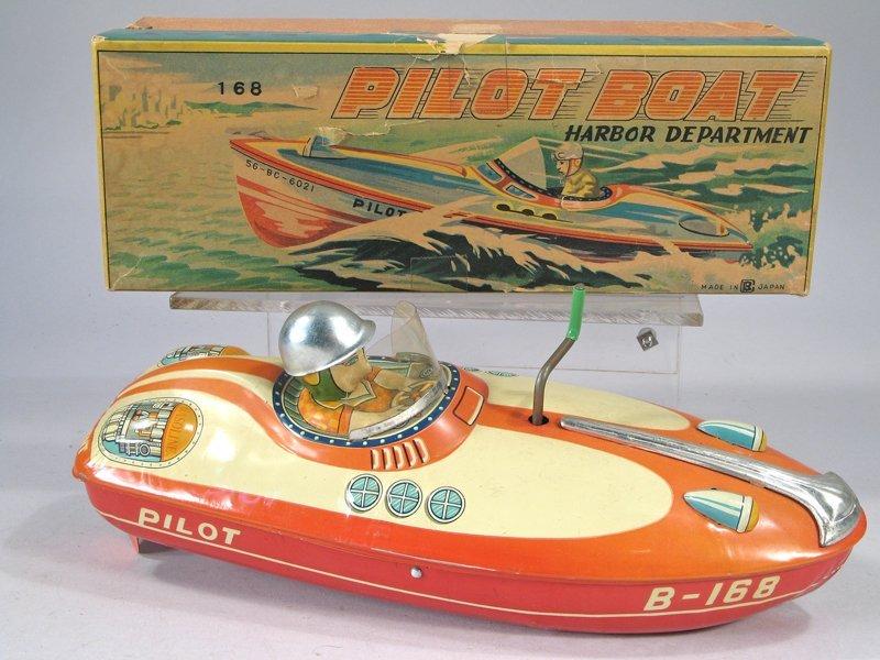 Bandai Pilot Boat In Box - 2