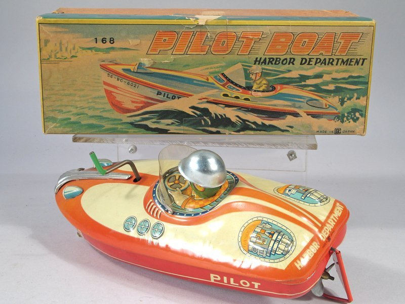Bandai Pilot Boat In Box - 3
