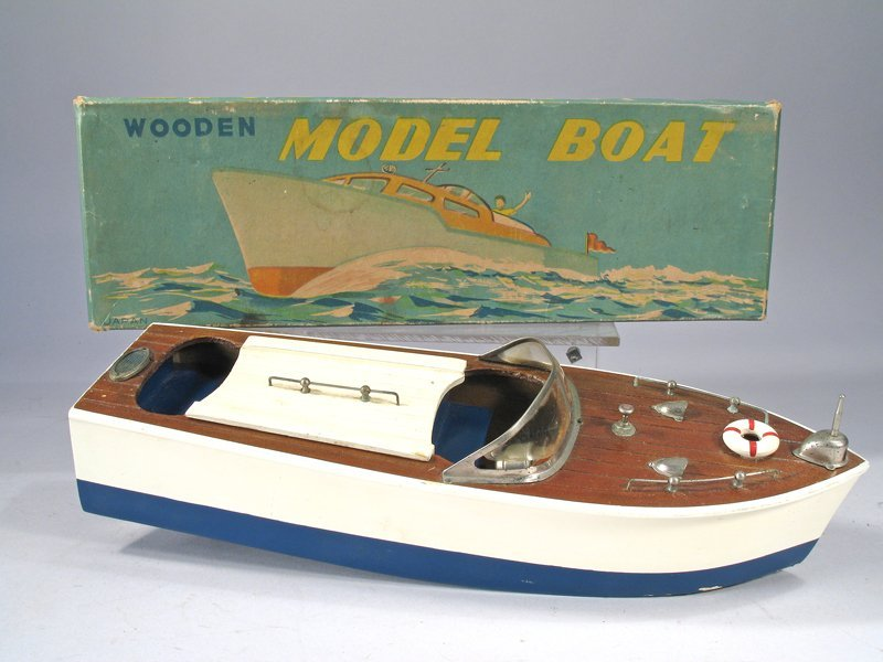 Cragston Wood Boat In Box - 2