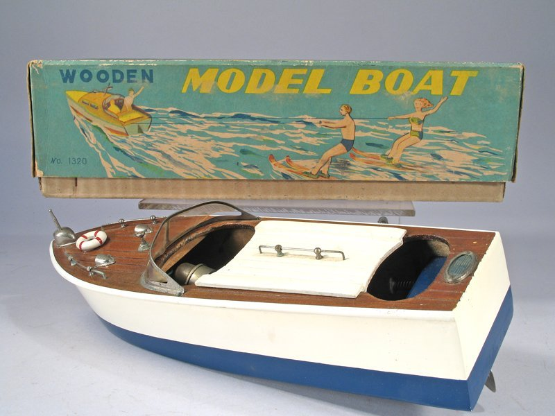 Cragston Wood Boat In Box - 3