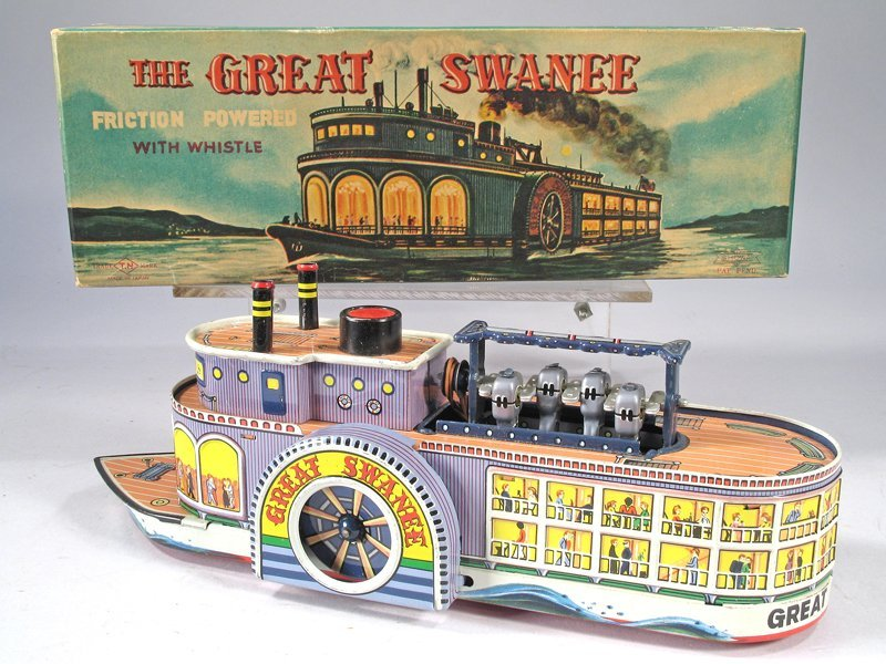 Great Swanee Paddle Wheeler In Box Japan