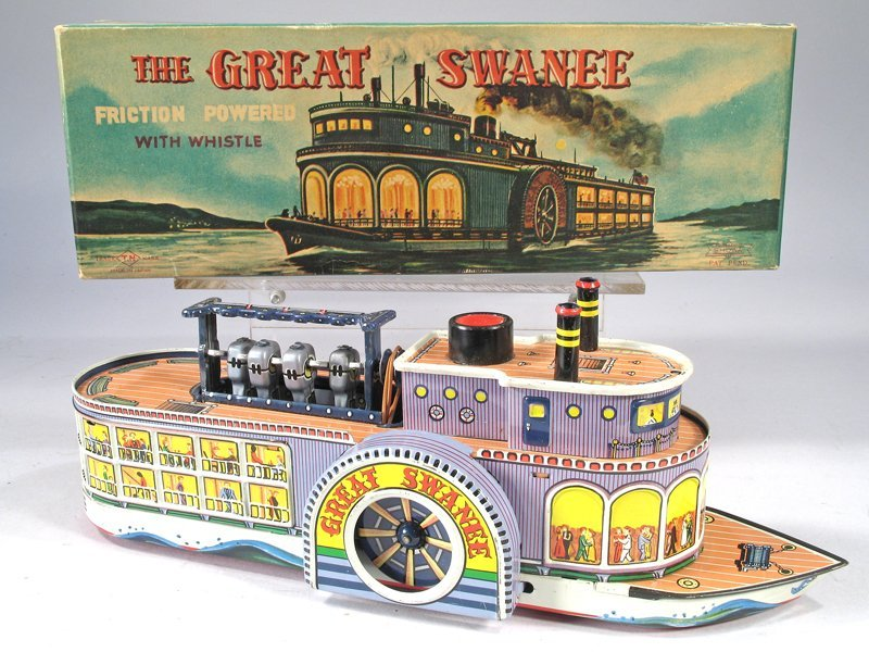 Great Swanee Paddle Wheeler In Box Japan - 2