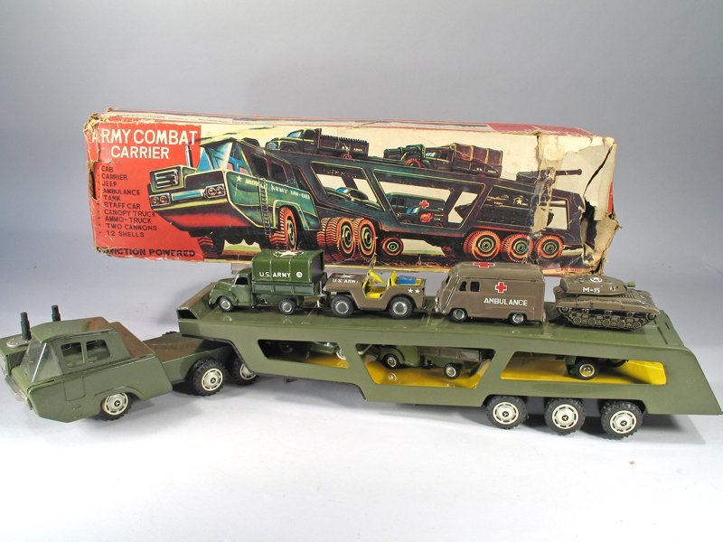 Japan Army Transport Truck In Box