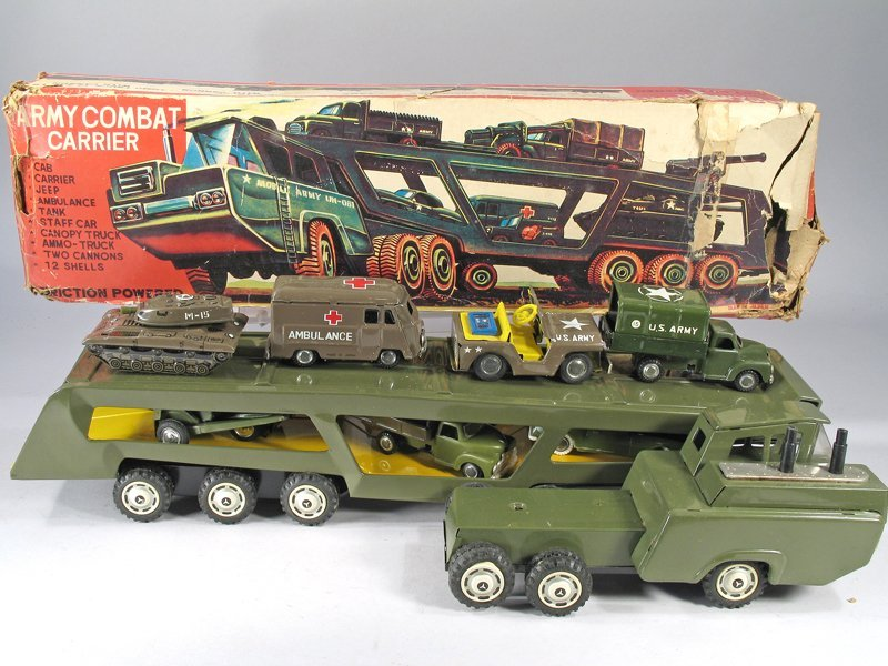 Japan Army Transport Truck In Box - 2