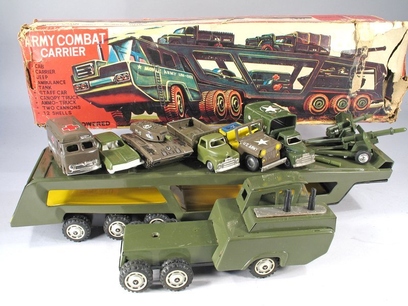 Japan Army Transport Truck In Box - 3