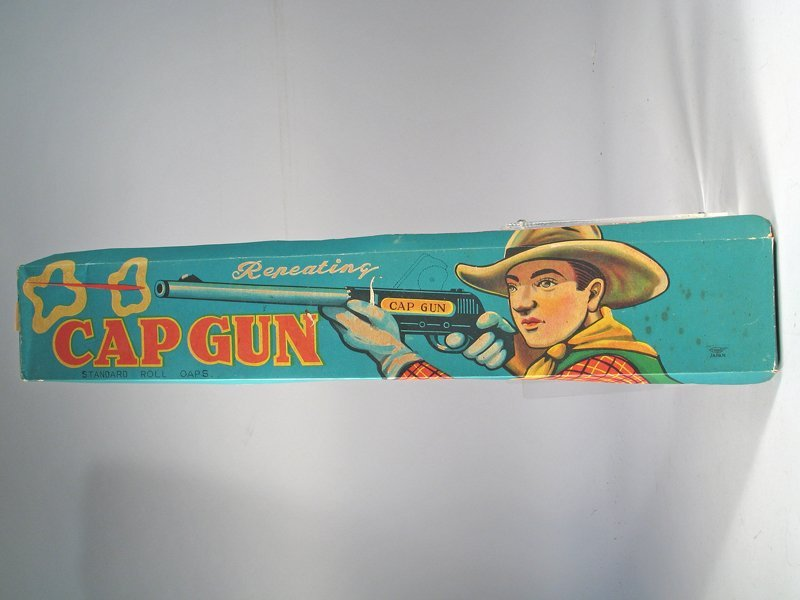 Japan Tin Repeating Rifle In Box
