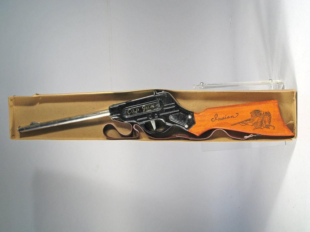 Japan Tin Repeating Rifle In Box - 2