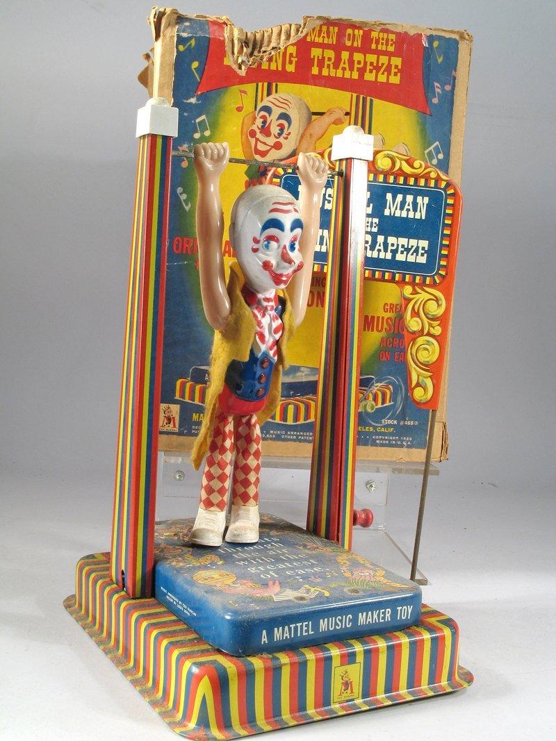 Mattel Music Man On Trapeze In Box