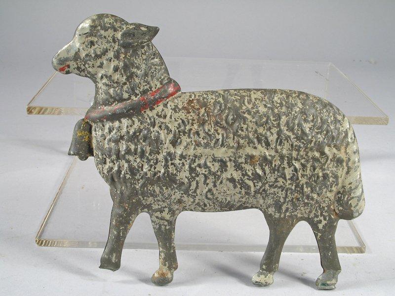 1890's Merriam Tin Sheep Toy