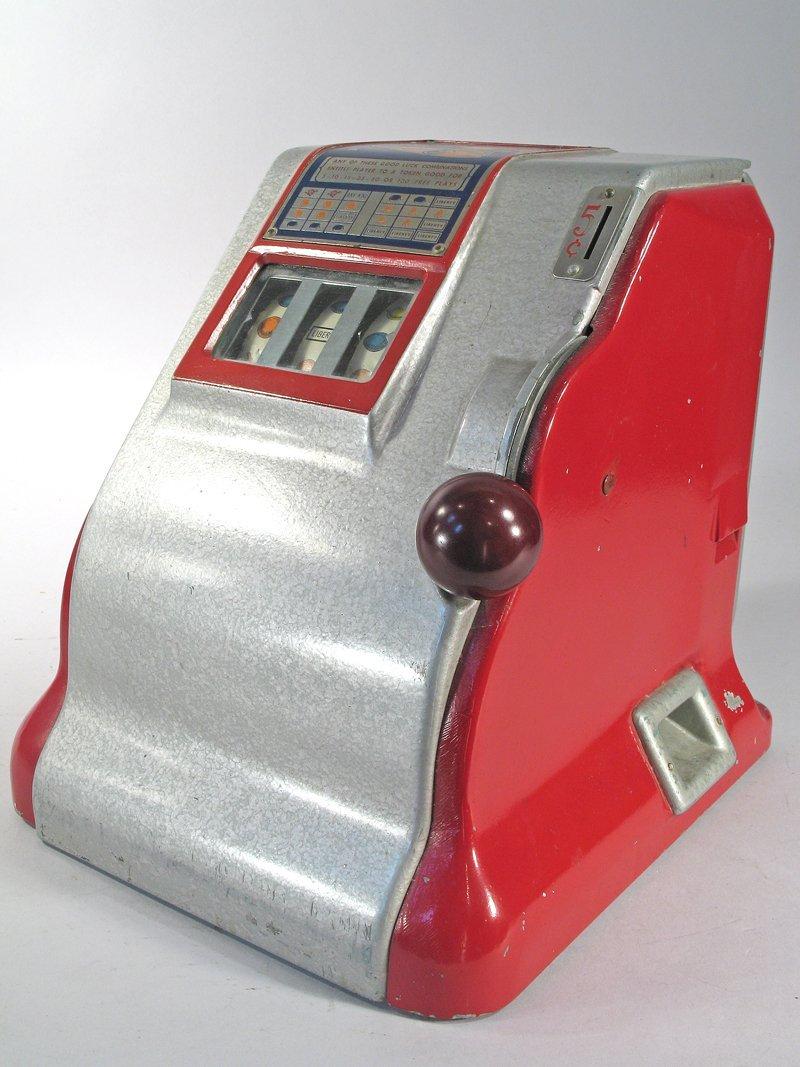 Liberty 5 Cent Table Top Slot Trade Stimulator