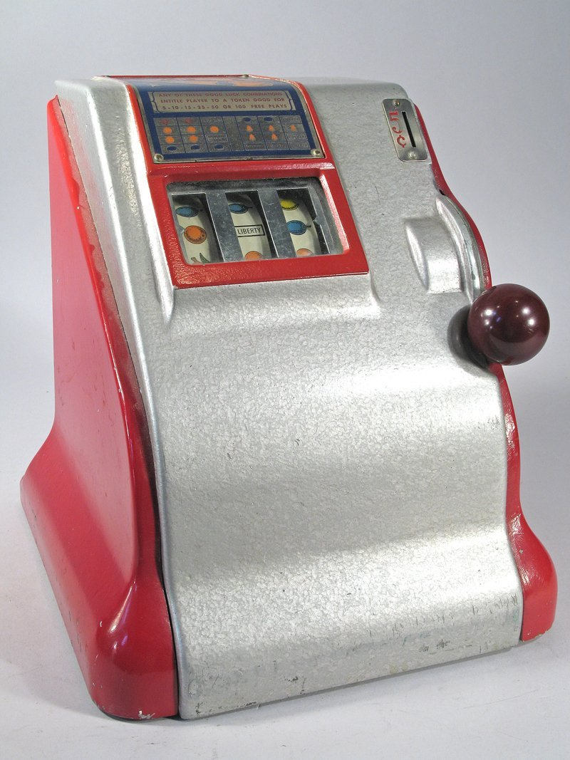 Liberty 5 Cent Table Top Slot Trade Stimulator - 2
