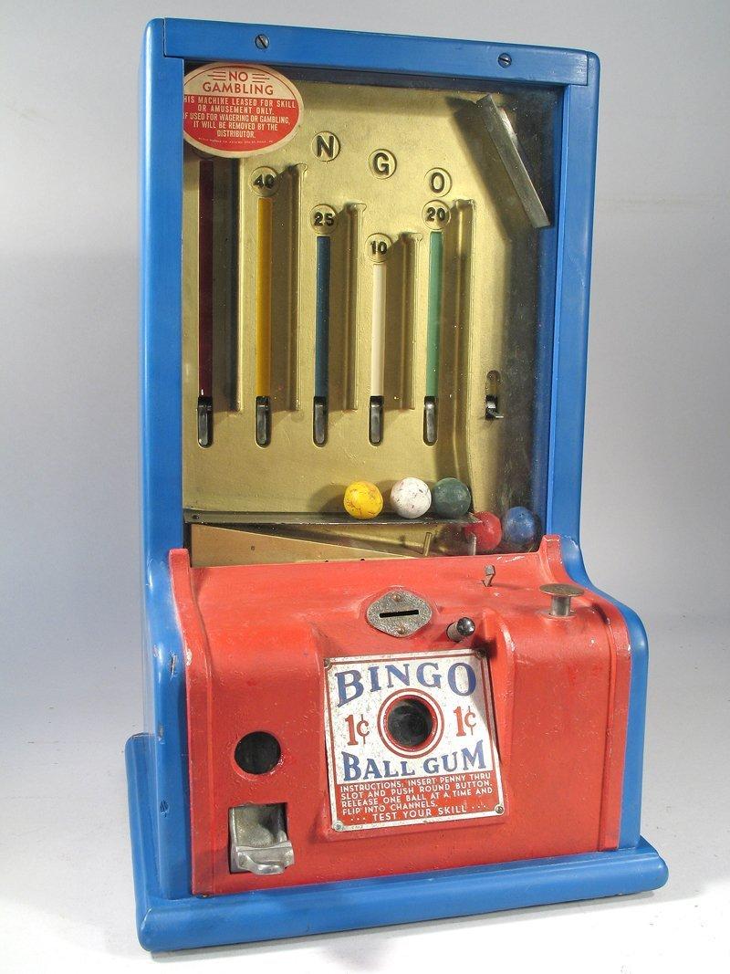 Bingo Table Top Gum Machine Trade Stimulator