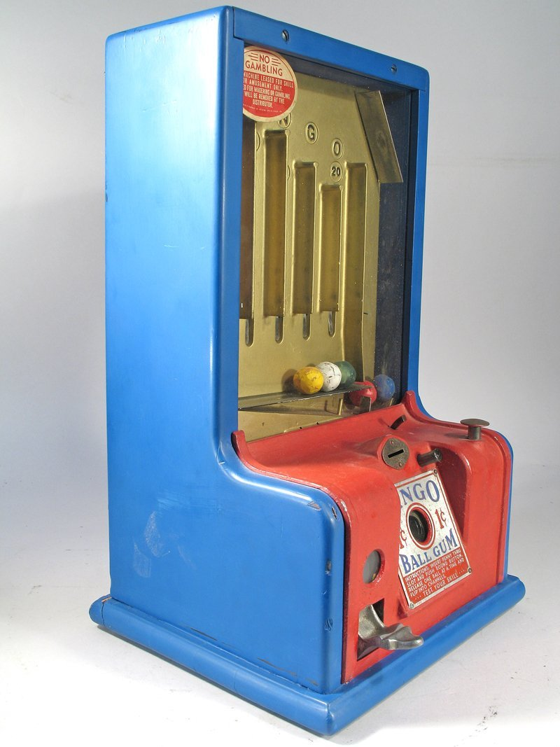 Bingo Table Top Gum Machine Trade Stimulator - 2