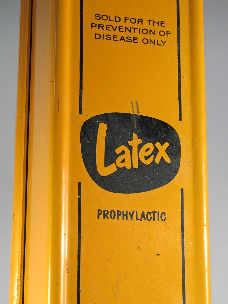 Latex 1940's Condom/Prophylactic Dispenser - 2