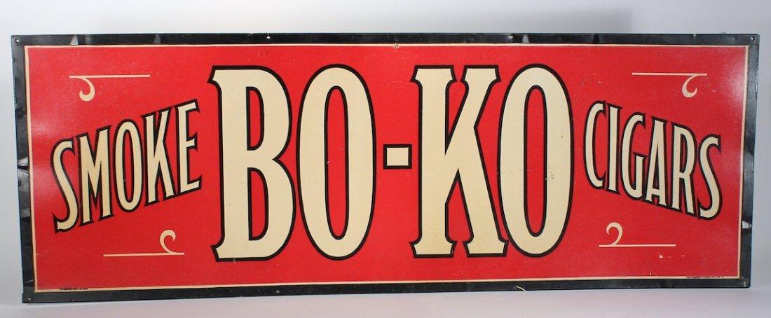 Smoke Bo-Ko  Cigars Metal Sign - 2