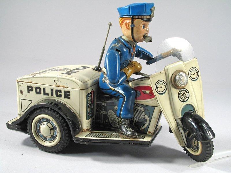 Nomura Police Patrol Cop On Trike Japan