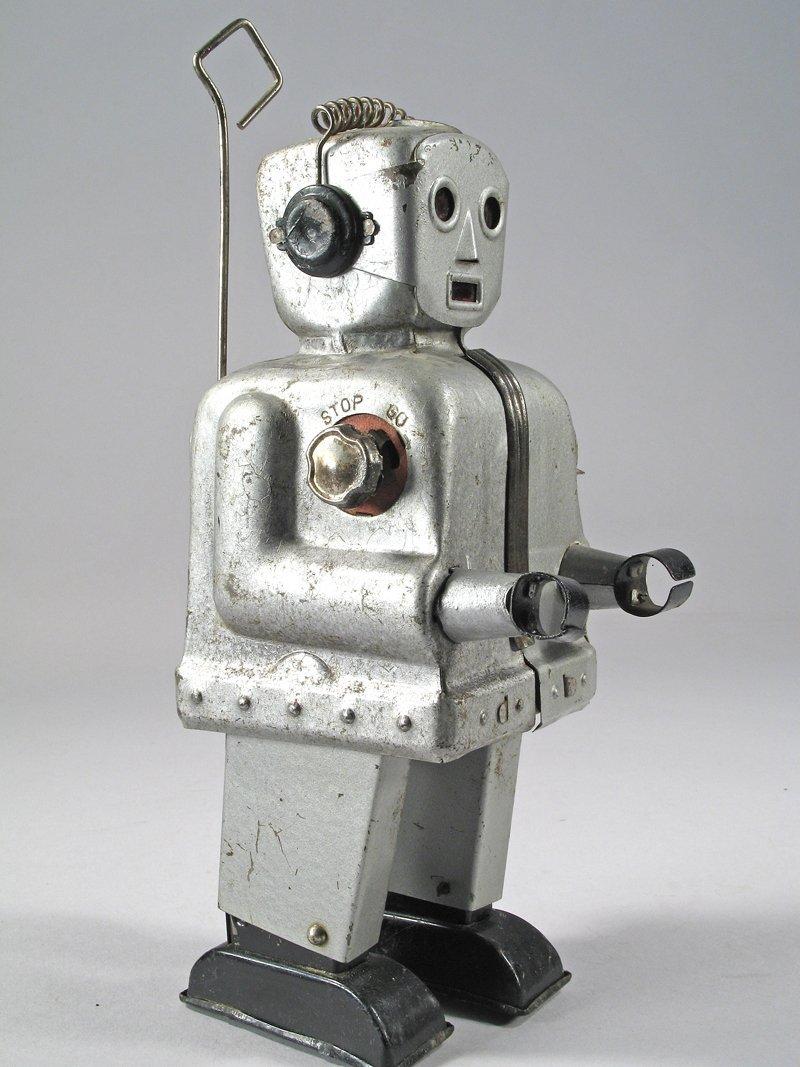 Japan Tin Nomura Zoomer Robot - 3