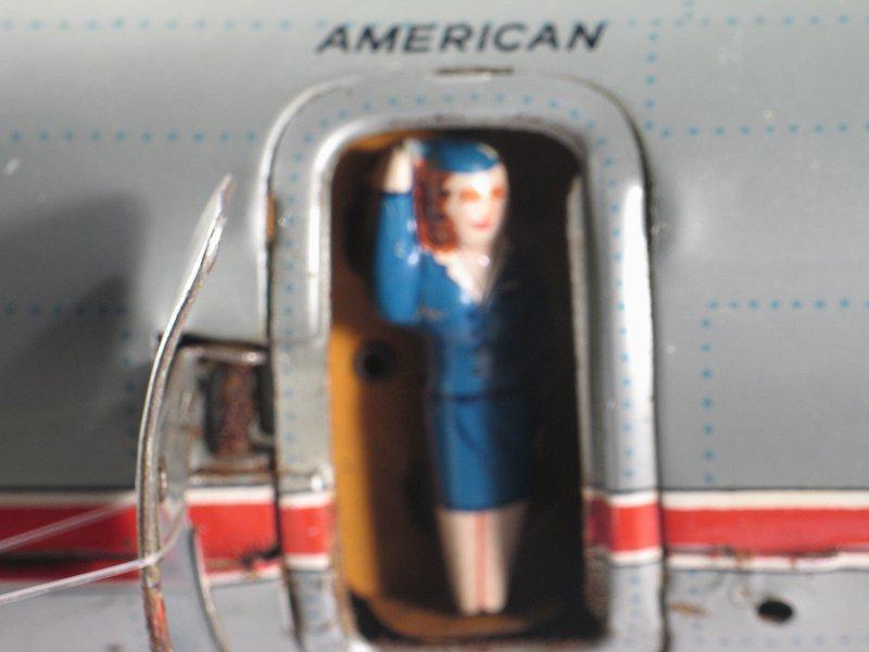 Yonezawa American Airlines w Stewardess @ Door Airplane - 3