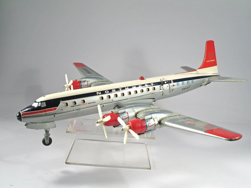 Yonezawa Northwest Airlines w Stewardess Airplane