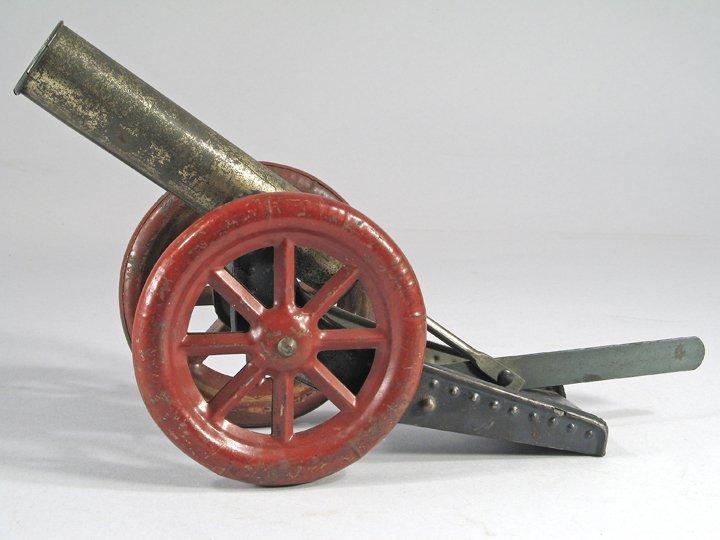 German Tin Marble Cannon 1920\'s